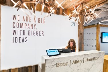 Booz Allen Hamilton Inc. grows with U.S. government contracts