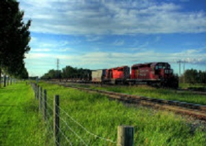 Canadian National Railway Co. is making record crop shipments