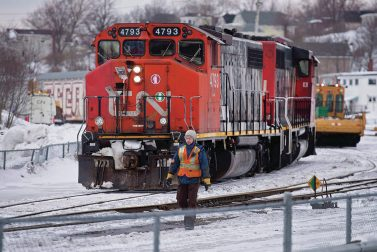 Earnings jump 8.4% at Canadian National Railway