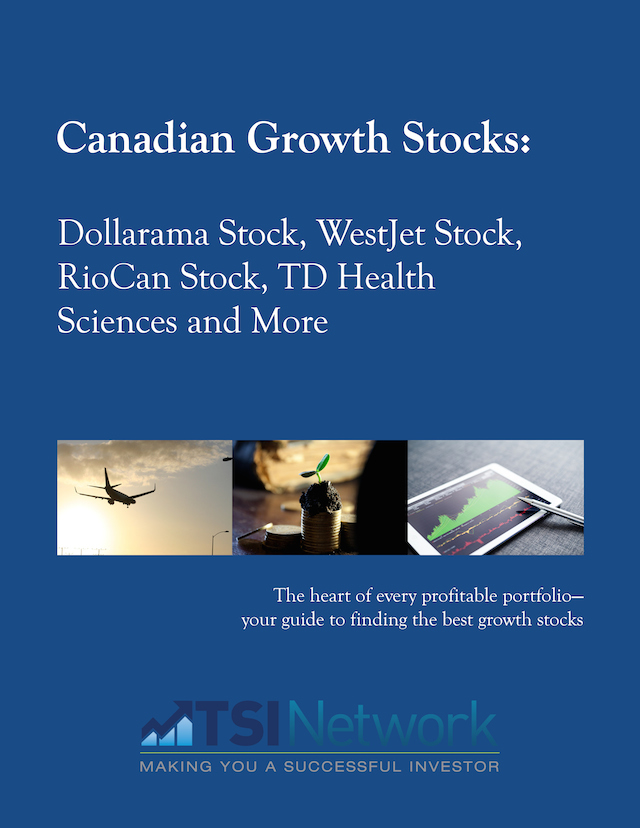 Canadian Growth Stocks: WestJet Stock, RioCan Stock and More