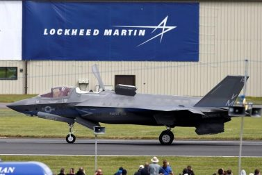 Lockheed Martin offers a strong balance sheet and ongoing government revenues