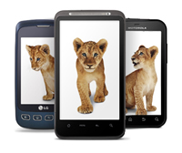 Dividend stocks: Telus smartphone image