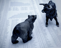 stock trading advice - stock image
