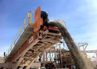 Rare Earth Miner: Molycorp crushing facility image