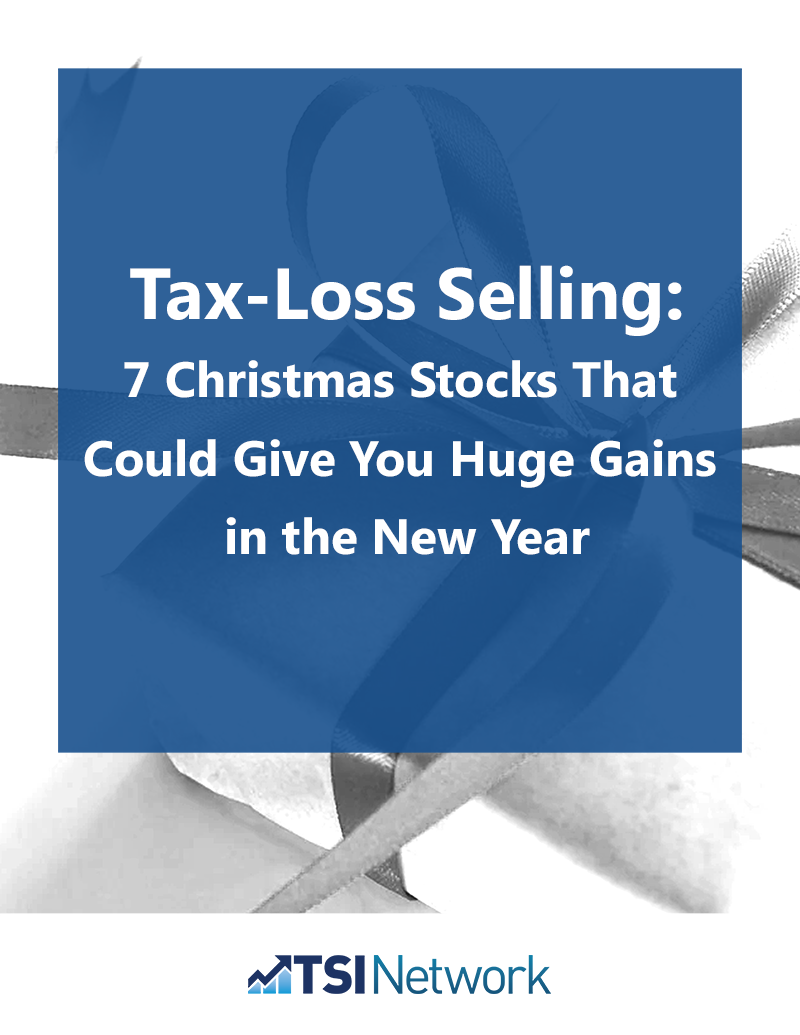 Tax-Loss Selling: 7 Christmas Stocks That Could Give You Huge Gains in the New Year